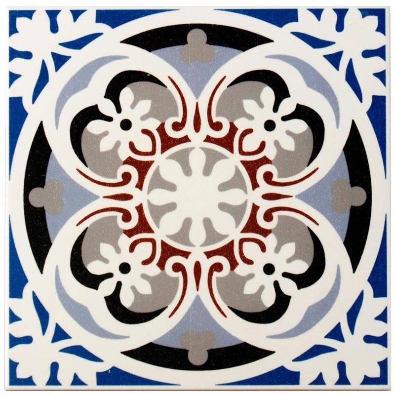 carrelage rtro mural brillant bleu 75 x 30 cm al0801040 - Carrelage Retro Vert