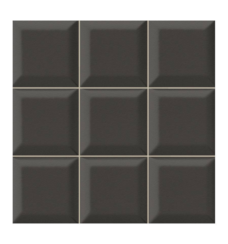 Robinetterie Salle De Bain Retro : Carrelage hexagonal mat noir 15 x 15 cm – HE0811013
