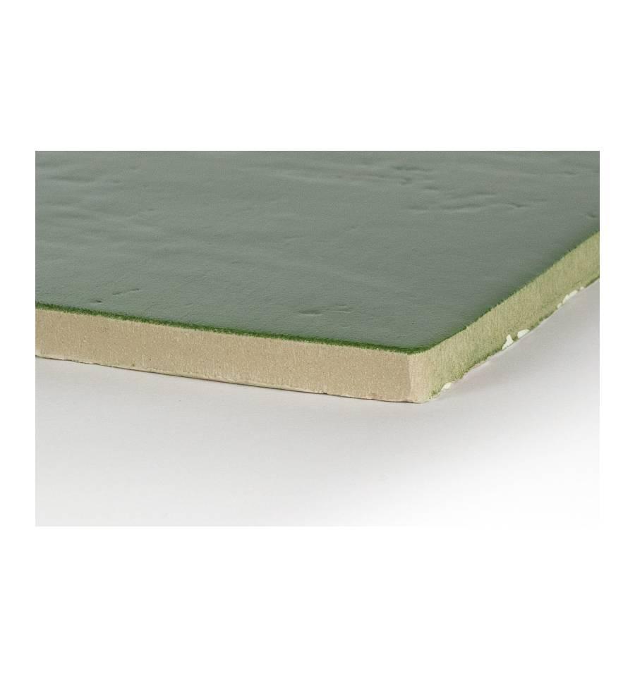 Carrelage mural vert carrelage m tro com comptoir du c for Carrelage vert d eau