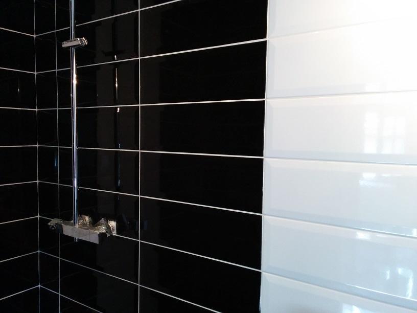 Salle de bain carrelage metro photo salle de bain for Salle bain carrelage metro