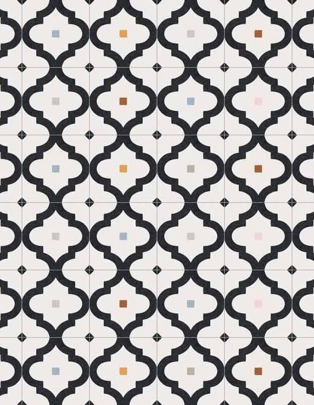 Fliese mit Muster - BO0210005