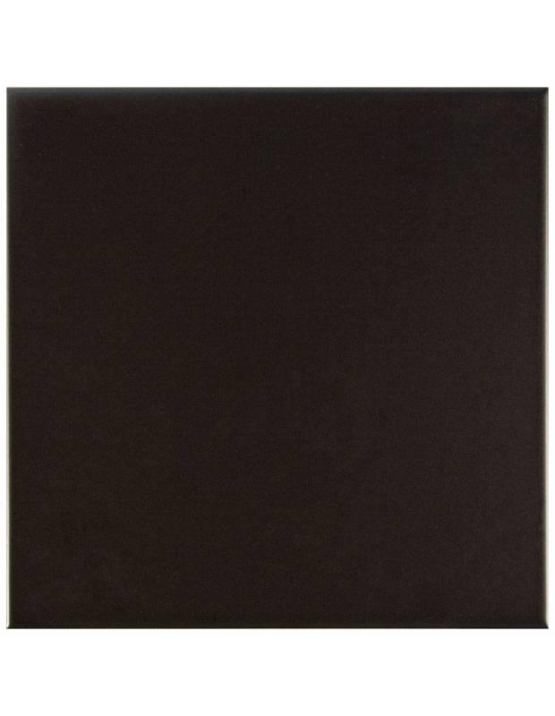 Wandfliese matt schwarz 20 × 20 cm - CH0118001
