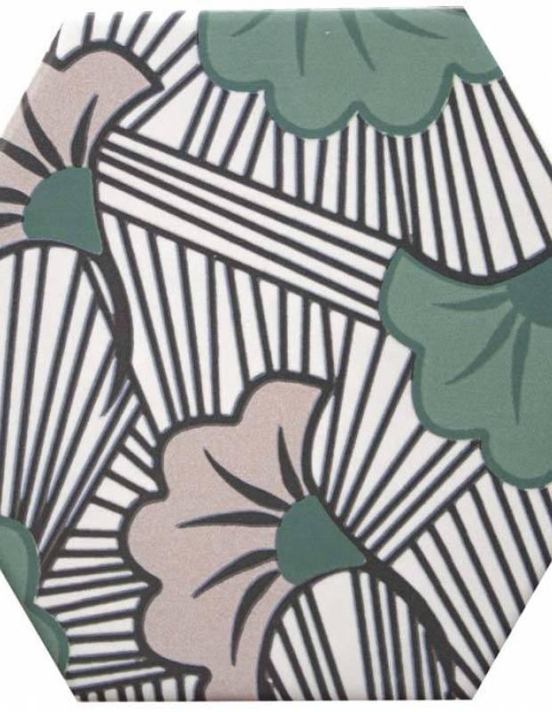 Sechseckige Fliese, die Tomette aus Steinzeug Good Vibes - GO0812001