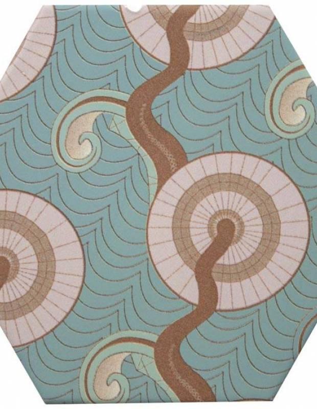 Sechseckige Fliese, die Tomette aus Steinzeug Good Vibes - GO0812002