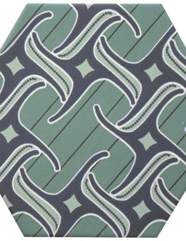 Sechseckige Fliese, die Tomette aus Steinzeug Good Vibes - GO0812004
