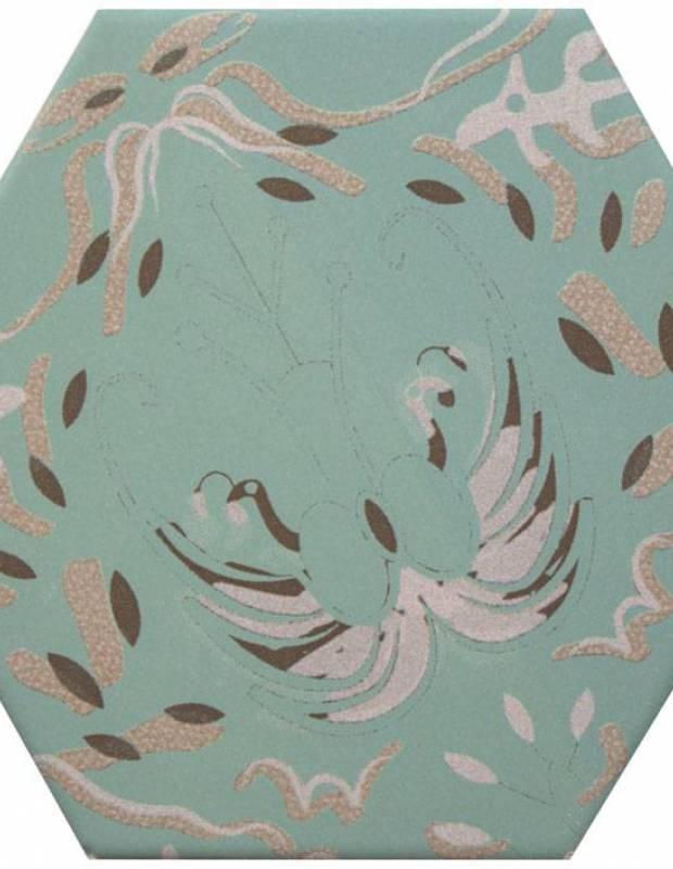 Sechseckige Fliese, die Tomette aus Steinzeug Good Vibes - GO0812005