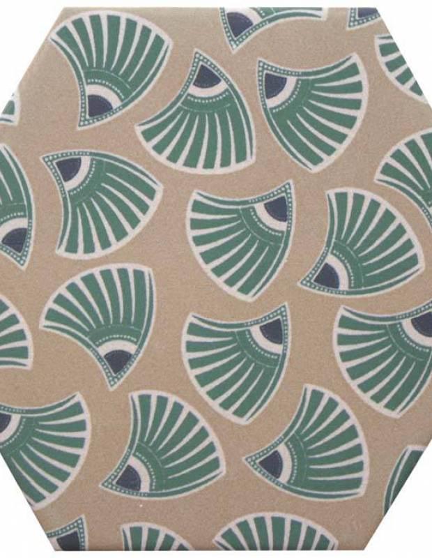 Sechseckige Fliese, die Tomette aus Steinzeug Good Vibes - GO0812006