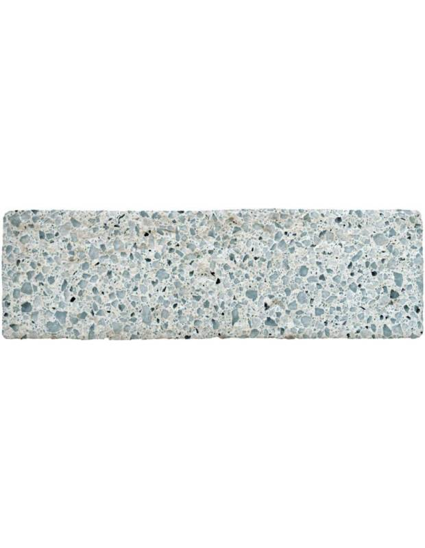 Carrelage briquette terrazzo bleu - CI8503005