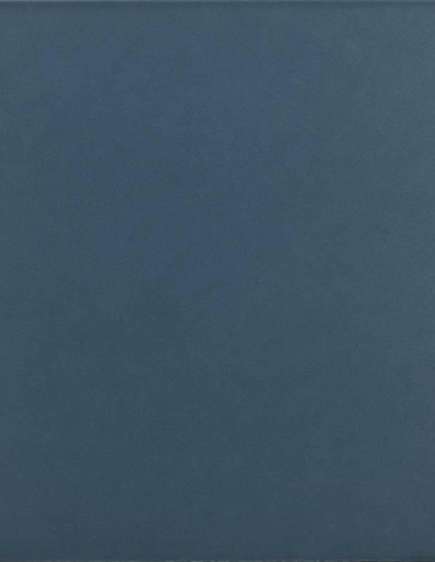 Carrelage 15 x 15 cm mat bleu nuit - RA9705002