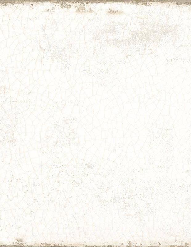 Bodenfliese weiß antik - GR8504009