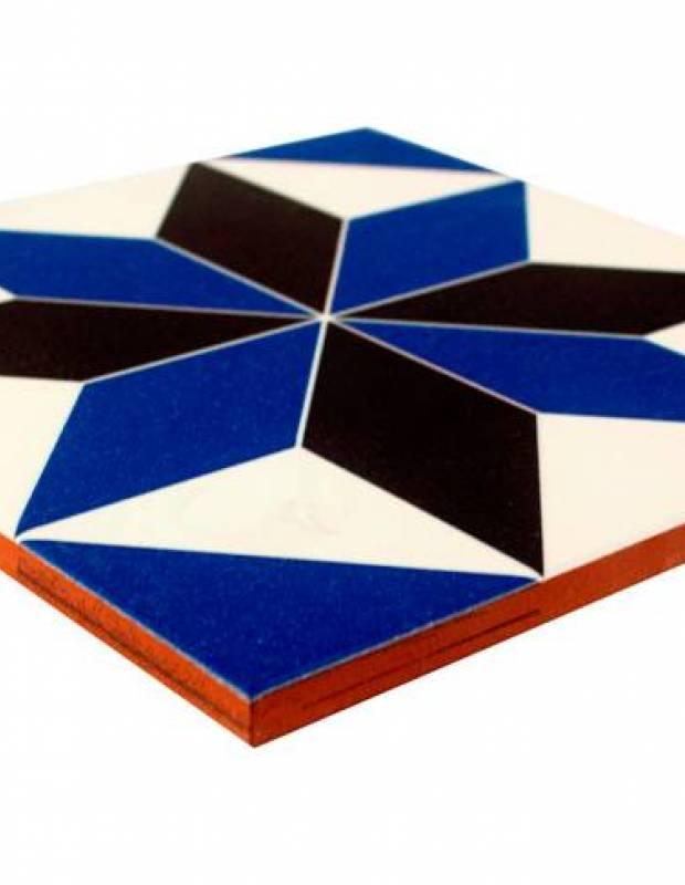 Carrelage imitation carreau ciment sol et mur 20 x 20 cm - VI0104014