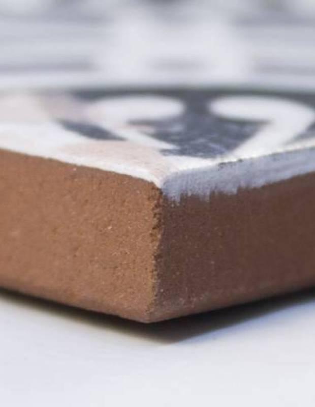 Carrelage ancien mat noir 33 x 33 cm - FS1104007