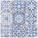 Fliese antik matt blau 33 × 33 cm - FS1104006