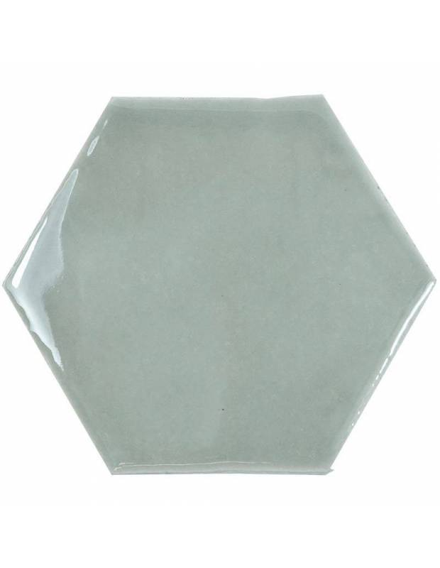 Carrelage hexagonal mural tomette artisanale - CE1406066