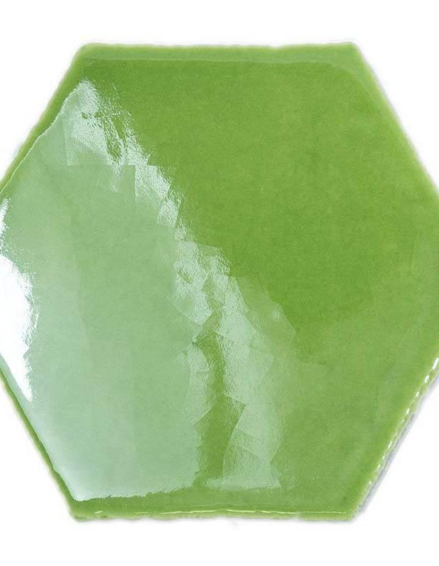 Sechseckige Wandfliese Tomette handgearbeitet - CE1406065