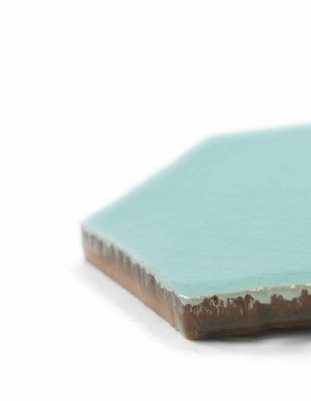 Sechseckige Wandfliese Tomette handgearbeitet - CE1406062