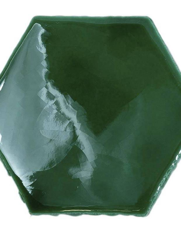 Sechseckige Wandfliese Tomette handgearbeitet - CE1406061