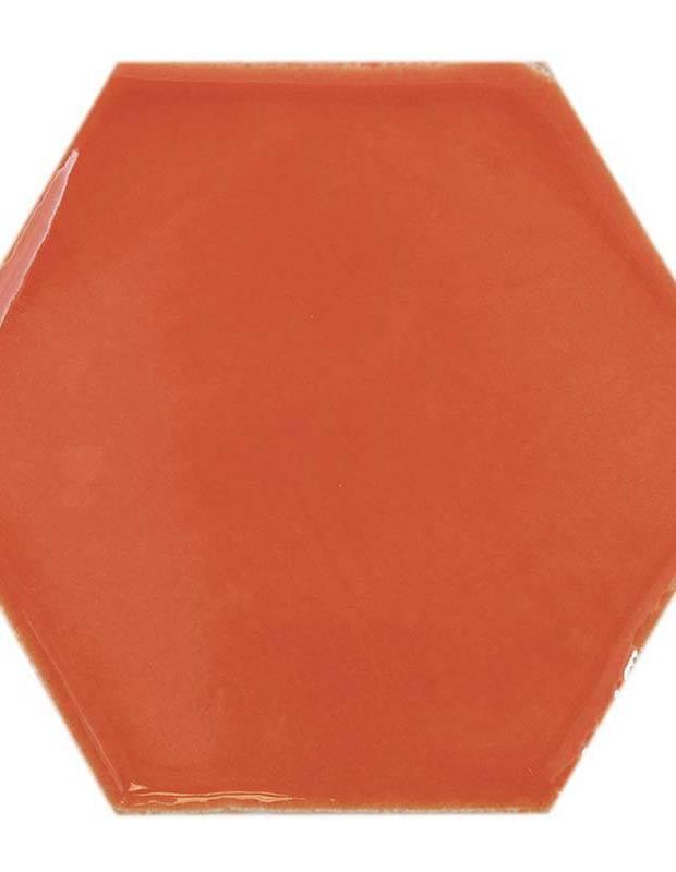 Sechseckige Wandfliese Tomette handgearbeitet - CE1406052