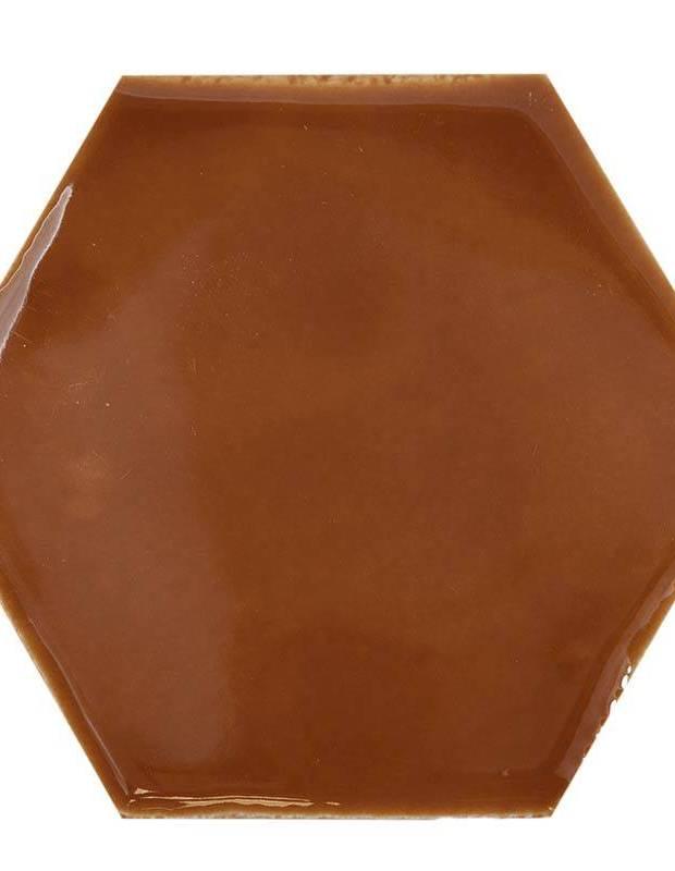 Sechseckige Wandfliese Tomette handgearbeitet - CE1406050