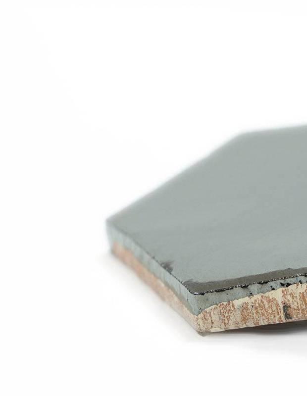 Sechseckige Wandfliese Tomette handgearbeitet - CE1406049