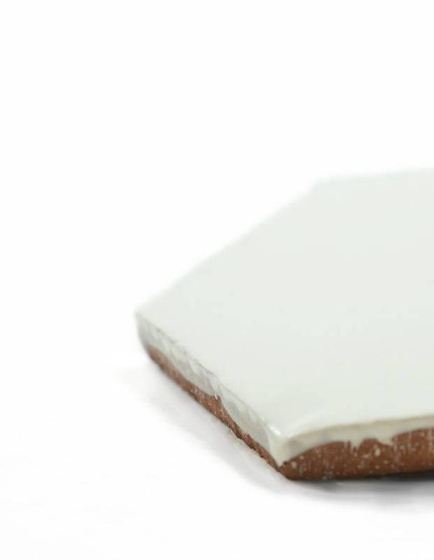 Sechseckige Wandfliese Tomette handgearbeitet - CE1406047