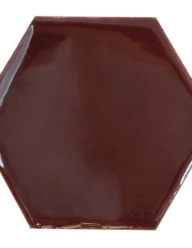 Carrelage hexagonal mural tomette artisanale - CE1406041