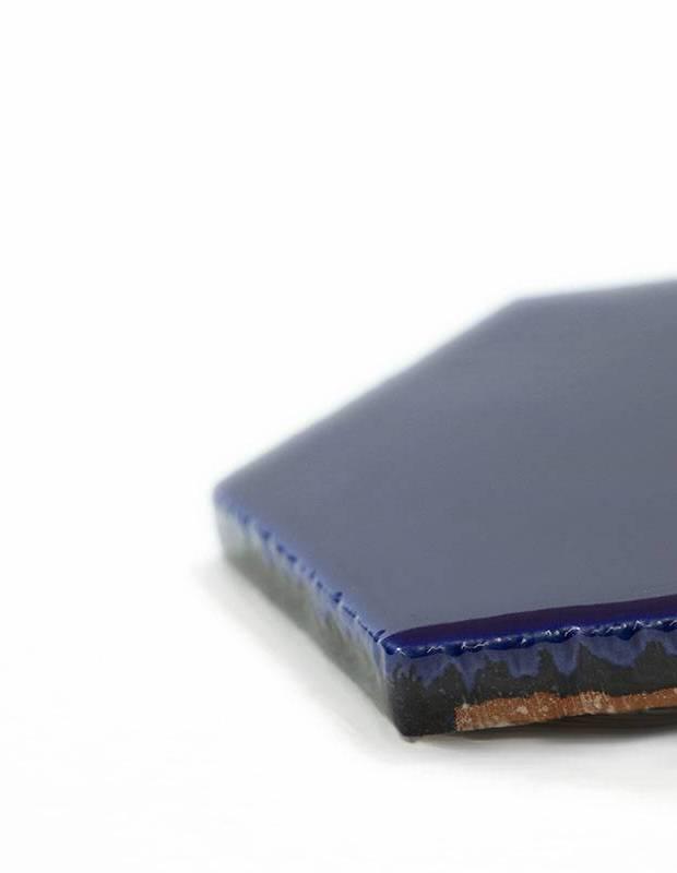 Sechseckige Wandfliese Tomette handgearbeitet - CE1406037