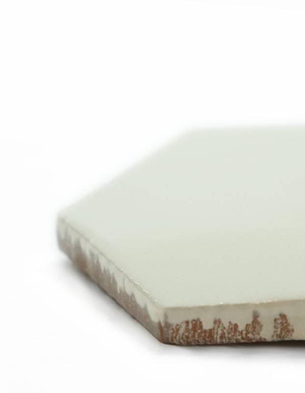 Sechseckige Wandfliese Tomette handgearbeitet - CE1406034