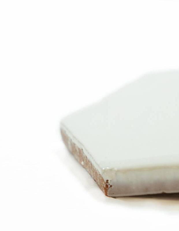 Sechseckige Wandfliese Tomette handgearbeitet - CE1406033