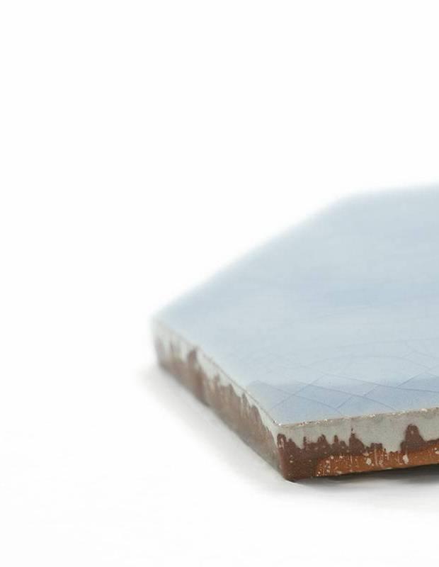 Sechseckige Wandfliese Tomette handgearbeitet - CE1406028