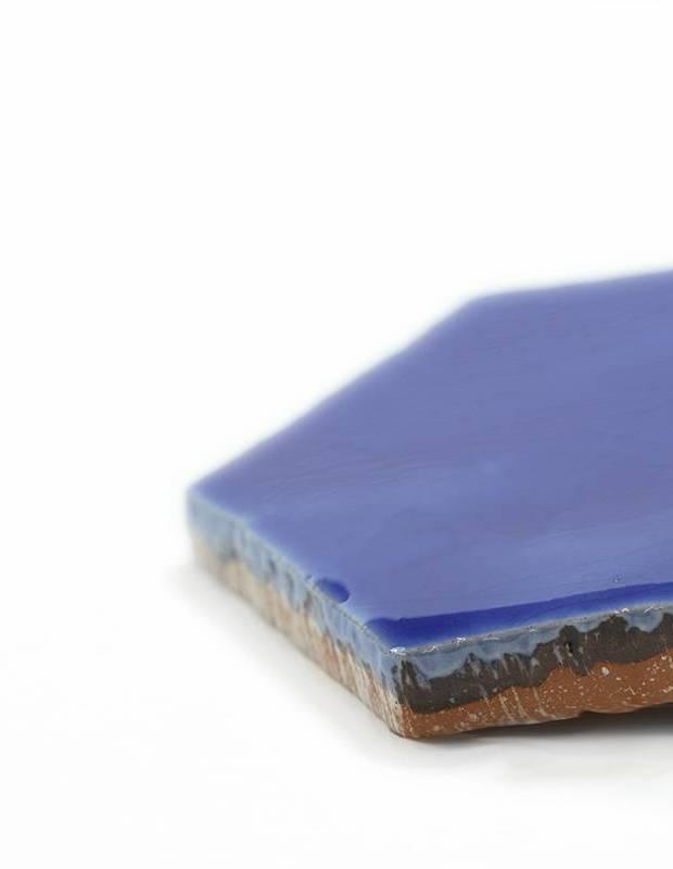 Sechseckige Wandfliese Tomette handgearbeitet - CE1406027