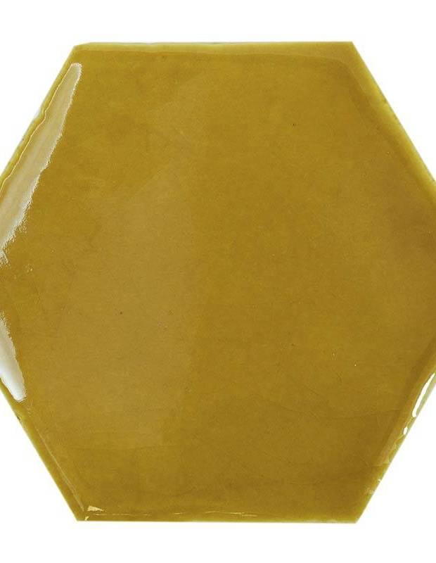Carrelage hexagonal mural tomette artisanale - CE1406023