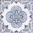 Carrelage mural azulejo bleu style artisanal - LI3502001