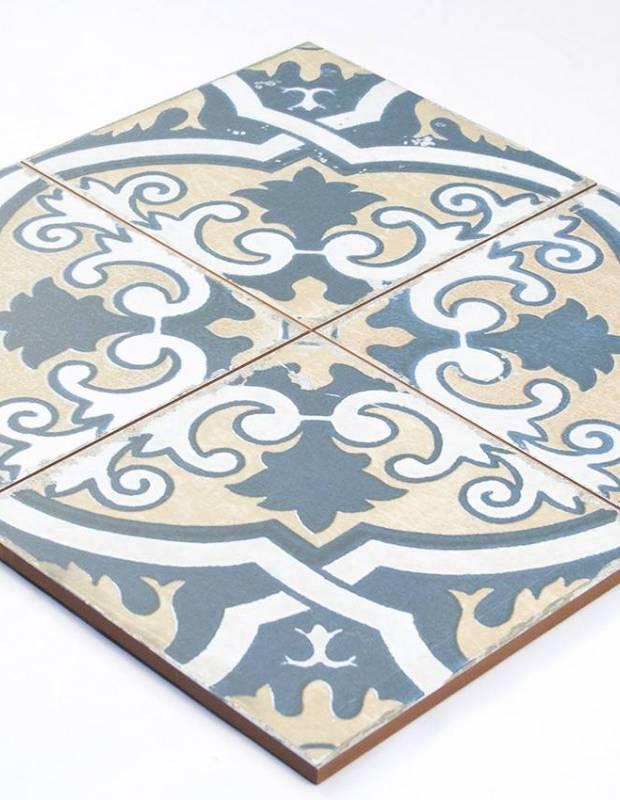 Carrelage ancien mat 45 x 45 cm - FS1104002