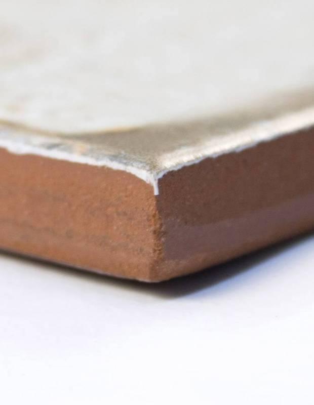 Fliese antik matt weiss 45 × 45 cm - FS1104005