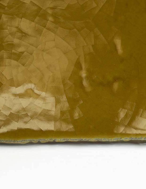 Carrelage artisanal 10 x 10 type terre cuite émaillée CE1406108
