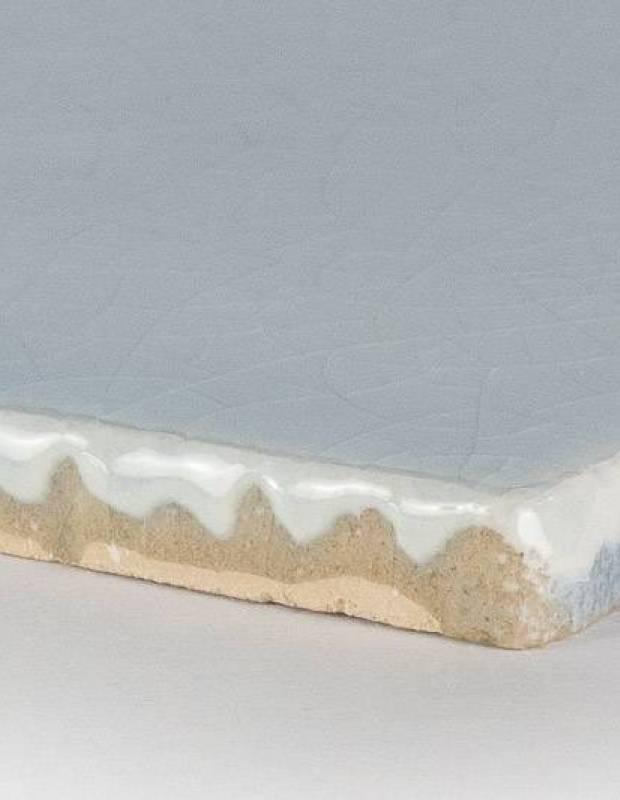 Carrelage artisanal 10 x 10 type terre cuite émaillée CE1406079