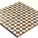 Zementfliesen-Imitat Boden 45 × 45 cm - HE1105001