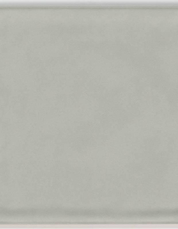 Gehämmerte Fliese 15 × 15 cm grau Handmade-Effekt - LU7404053