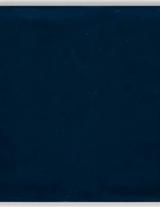 Gehämmerte Fliese 15 × 15 cm marineblau Handmade-Effekt - LU7404057