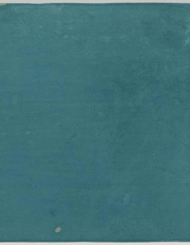 Zellige turquoise brillant style artisanal 12.5 x 12.5 cm - ZE5901006