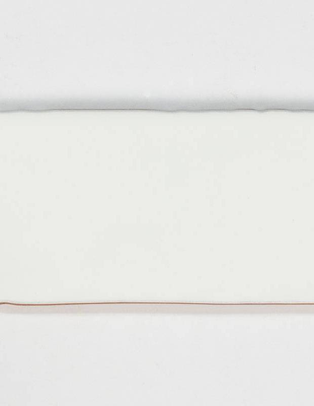 Carrelage rétro mural brillant blanc 7.5 x 15 cm - AN0802001