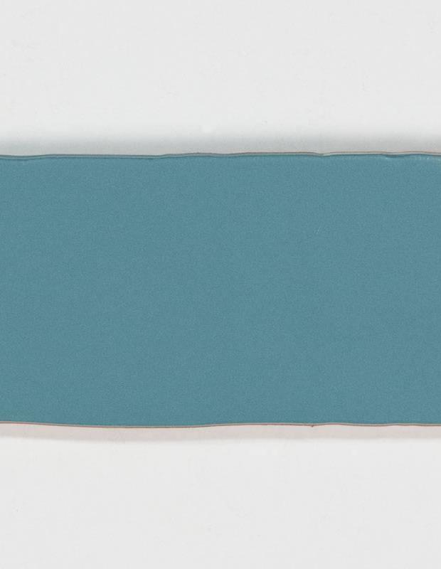 Retro-Wandfliese seidig blau - AN0802020