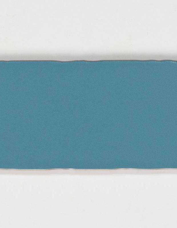 Retro-Wandfliese seidig blau - AN0802021