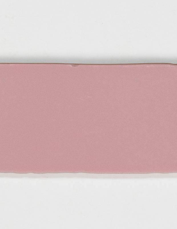 Retro-Wandfliese seidig rosa - AN0802023