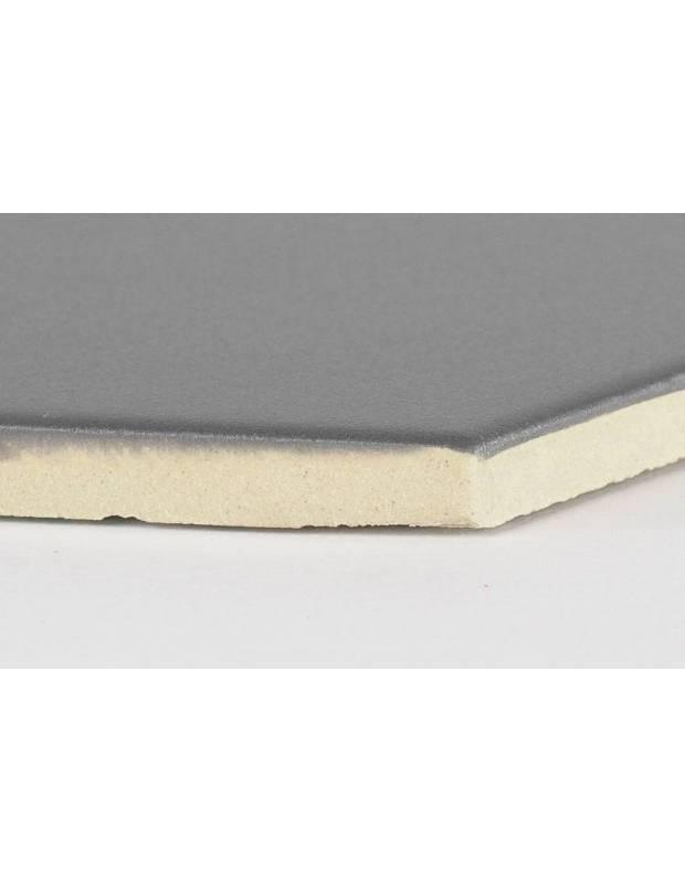 Rautenförmige Fliesen in Schwarztönen für den Innen- und Außenbereich - FL5905001