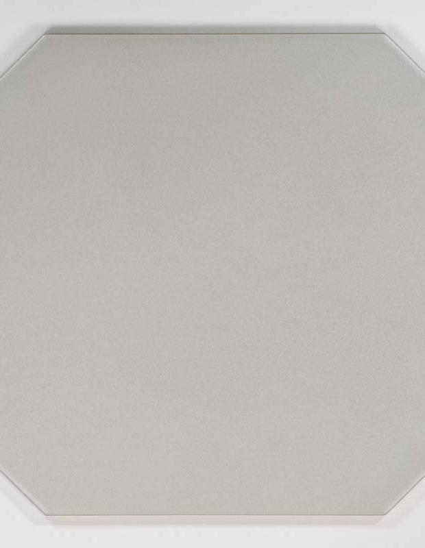 Fliese achteckig mattgrau 20 × 20 cm - VO0606009
