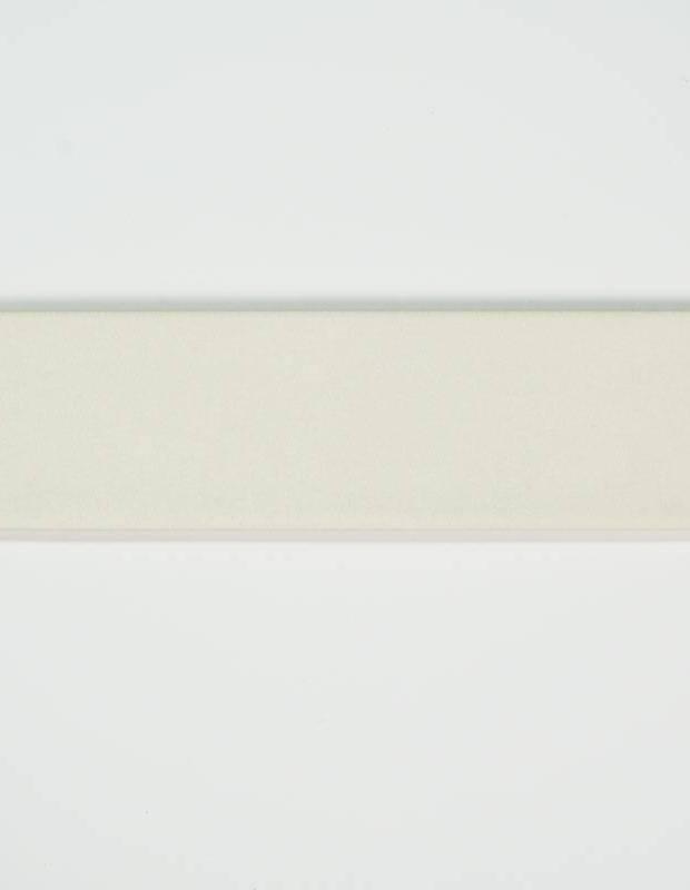 Zellij weiß - rechteckig 7,5 × 30 cm - glänzende Emaille - NA9505002