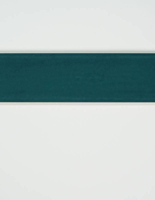 Zellij marineblau rechteckig 7,5 × 30 cm glänzende Emaille - NA9505004