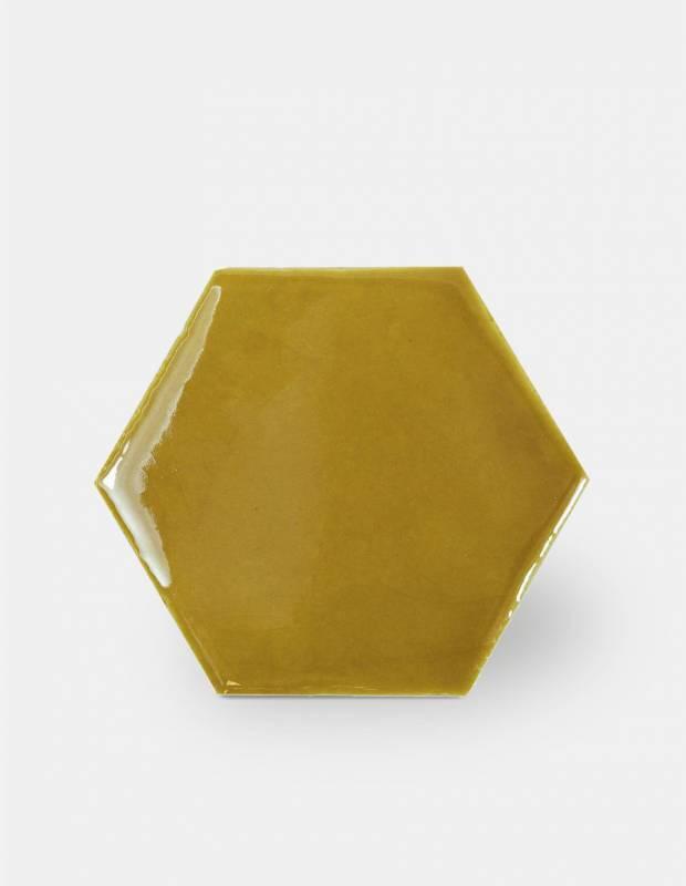 Sechseckige Wandfliese Tomette handgearbeitet - CE1406023